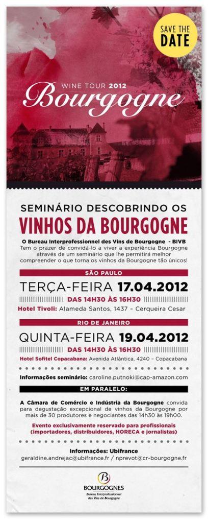 Primeira fotogarfia publicada no artigo Seminário: Bourgogne no Brasil para profissionais do vinho