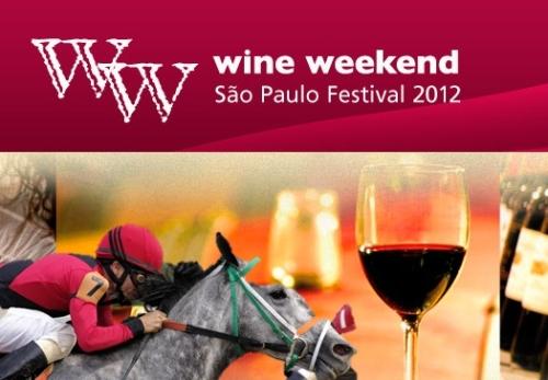 """Primeira fotogarfia publicada no artigo Wine Weekend """"põe na pista"""" do Jockey vinhos de diversas importadoras"""